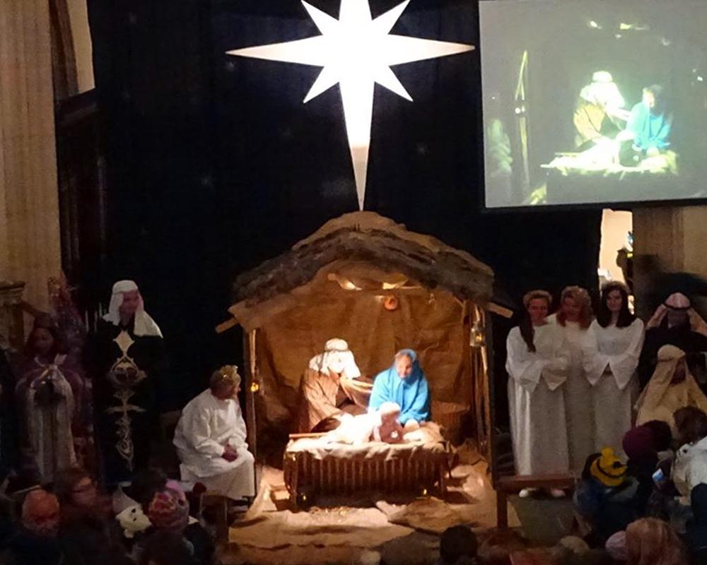 Nativity at St John's