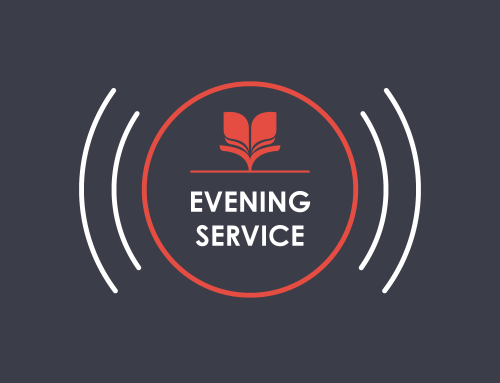 Join the 6pm evening service