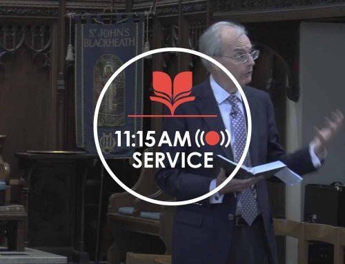 11:15 Service 03.01.21