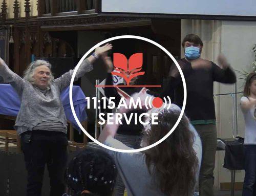 11:15am Service 16.05