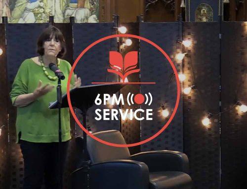 6pm Service 30.05
