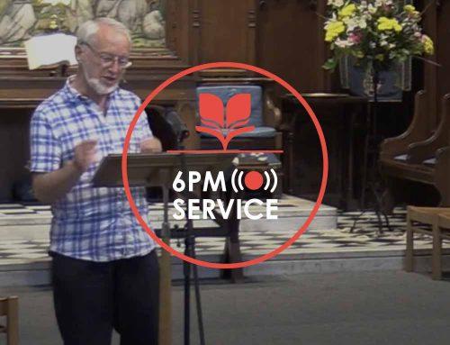 6pm Service 18.07
